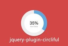 jQuery圆形统计图(百分比)插件 - circliful-Web前端(W3Cways.com) - Web前端学习之路
