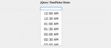 10款jQuery时间选择插件-Web前端(W3Cways.com) - Web前端学习之路